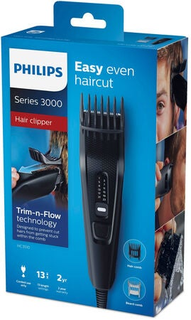 Philips Hårtrimmer Series 3000 1-23mm