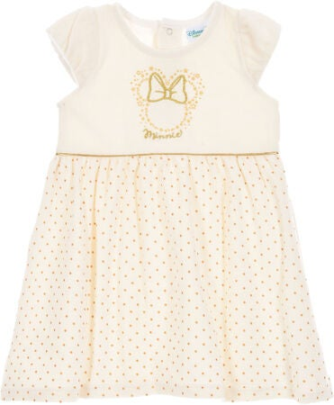 Disney Minnie Mouse Kjole, Offwhite