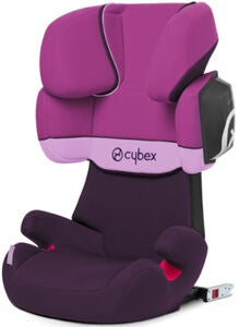 Cybex Solution X2-Fix Silver Line, Purple Rain