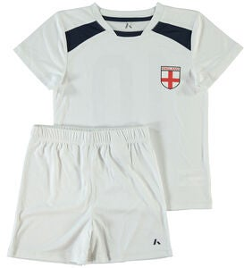Name it Mini Football Tøjsæt, Bright White