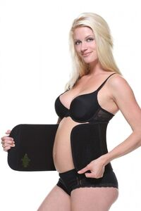 Belly Bandit Bamboo Belly Wrap, Sort