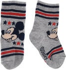 Disney Mickey Mouse Strømper, Light Grey