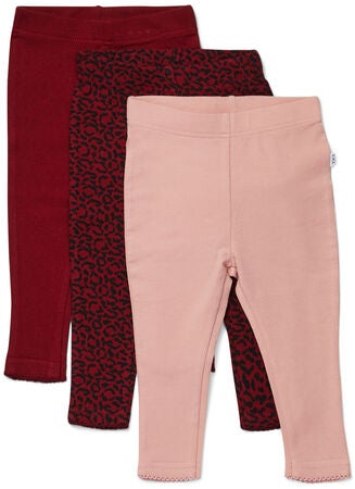 Luca & Lola Lexi Leggings 3-pak, Red Leo