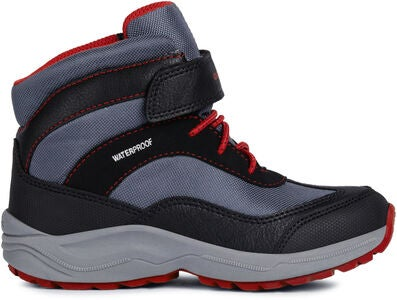 Geox New Alaska WPF Vinterstøvler, Black/Red