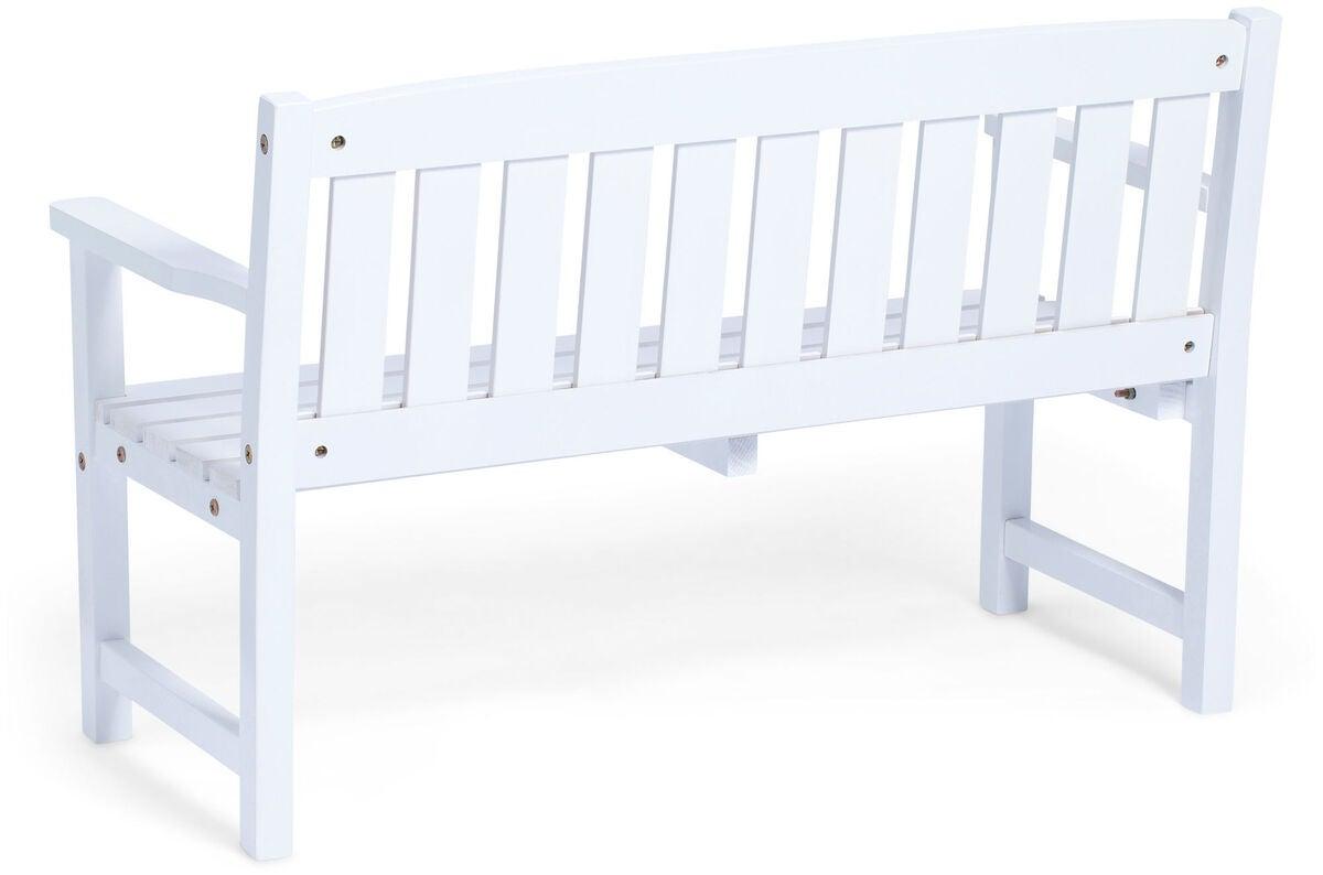 Seneste Køb Woodlii Bænk, Hvid   Jollyroom XG18