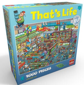 Goliath Games Puslespil That's Life – Supermarket 1000 Brikker
