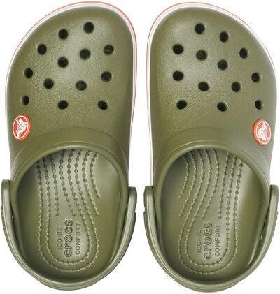 Køb Crocs Crocband Clog, Army GreenBurnt Sienna | Jollyroom
