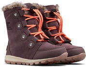 Sorel Youth Whitney Suede Støvler, Purple Sage