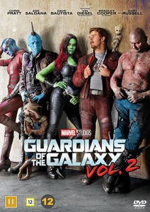 Marvel Guardians Of The Galaxy II DVD