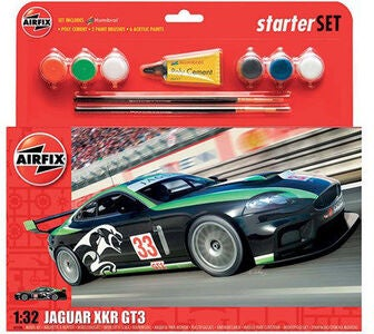 Airfix Jaguar XKRGT3 Model set Fantasy Scheme