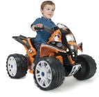 Injusa The Beast Elbil Quadbike, Sort/Orange