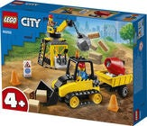 LEGO City Great Vehicles 60252 Byggeplads med bulldozer