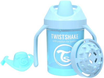 Twistshake Mini Cup Tudekop 230ml, Pastelblå