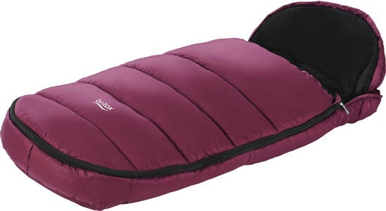 Britax Shiny Cosytoes Kørepose, Wine Red