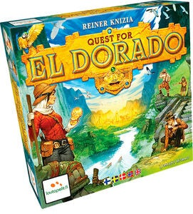 Quest for El Dorado Familiespil