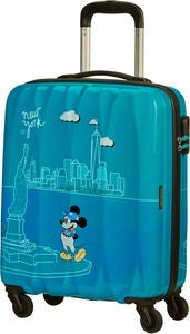 American Tourister Alfatwist 2.0 Spinner Rejsekuffert 36L, Take Me Away Mickey Nyc