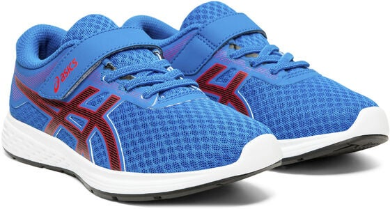 Asics Patriot 11 PS Sneakers, Electric Blue/PSeed Red