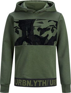 Jack & Jones Fergus Hoodie, Forest Night