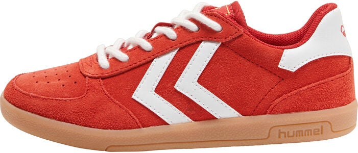 Hummel Victory Suede Jr Sneakers, Poinsettia