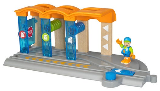 BRIO World 33874 Smart Tech Togvaskehal
