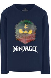LEGO Collection Langærmet T-Shirt, Dark Navy