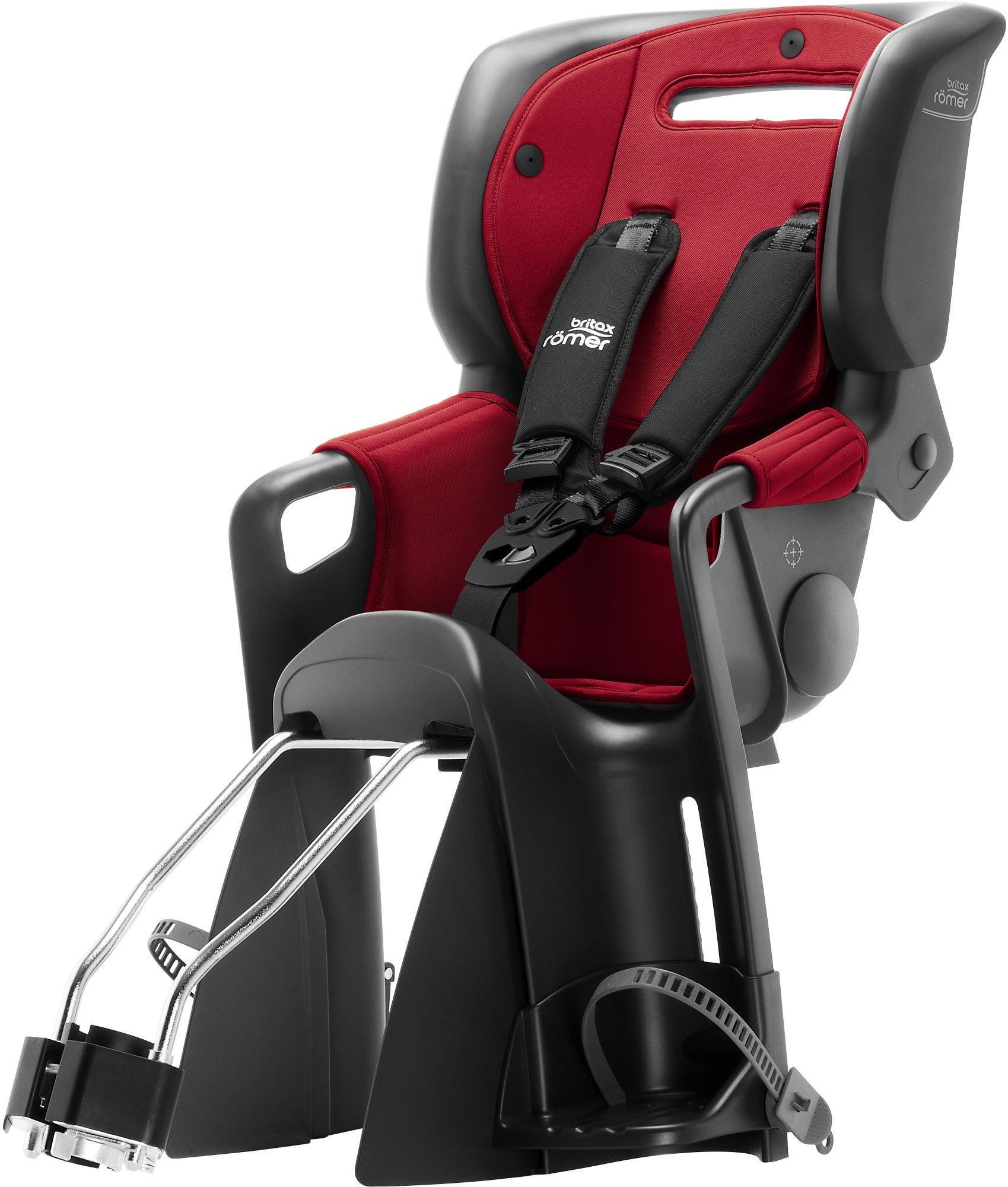 Britax Römer Jockey³ Comfort Cykelstol, Red/Blue | Bike seat