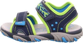 Superfit Mike2 Sandaler, Blue/Green