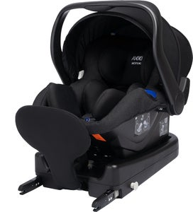 Axkid Modukid Infant Autostol, Black Inkl. Base