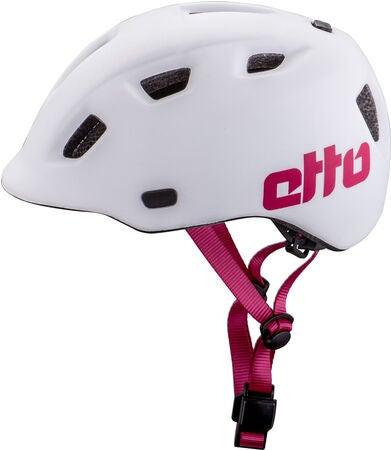 Etto Haze Cykelhjelm, White/Pink | Hjelme