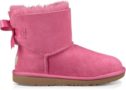 UGG Mini Bailey Bow II Kids Støvler, Pink Azalea