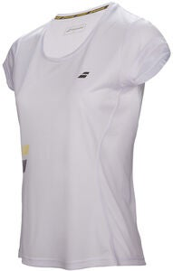 Babolat Core Flag Club Girl T-Shirt, White