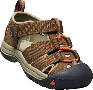 KEEN Newport H2 Toddlers Sandaler, Dark Earth/Spicy Orange