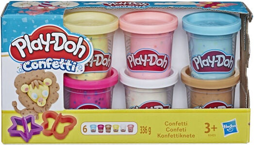 Play-Doh Modellervoks Confetti Compound