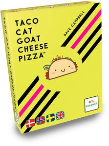 Taco Cat Goat Cheese Pizza Familiespil