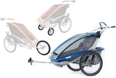 Thule Chariot CX2 Tvillingevogn m. Cykelkit, Gåturs-kit & Joggerkit | item_misc