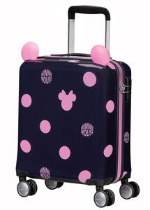 Samsonite Disney Spinner Kuffert 22L, Minnie Pink Dots