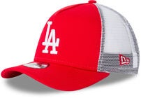 New Era League Essential TRUCK KIDS LO Kasket, Scarlett/White