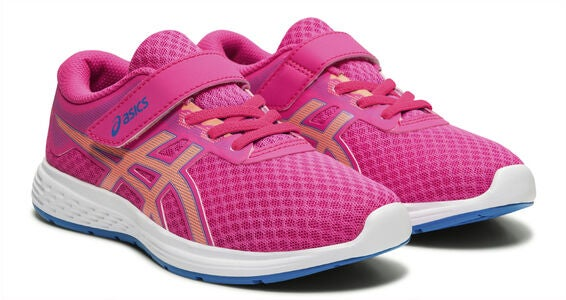 Asics Patriot 11 PS Sneakers, Pink Glo/Sun Coral