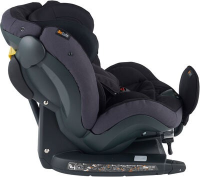 BeSafe iZi Kid X3 Autostol, Midnight Black Mélange