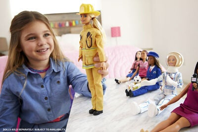 Barbie Career 60th Dukke Brandmand