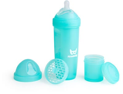 Herobility Baby Bottle Sutteflaske 340 ml, Blå