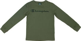 Champion Kids Langærmet T-Shirt, Winter Moss