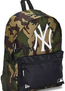 New Era MLB NYY Rygsæk 16L, Woodland Camo/Black
