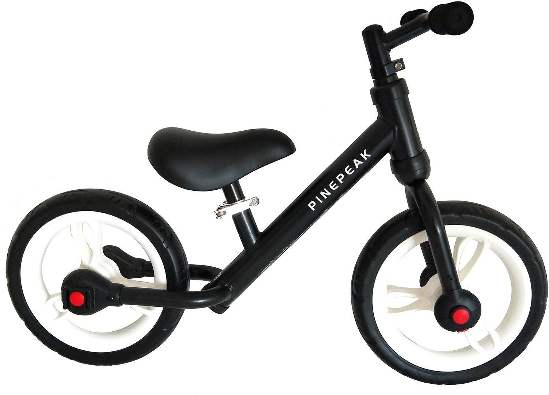 Pinepeak Løbecykel med Pedaler og Støttehjul | Learner Bikes