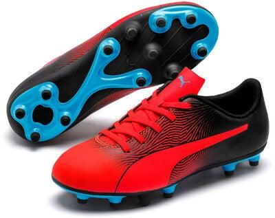 3a894d5d5c9 Køb Puma SPIRIT II JR FG Fodboldstøvler, Red/Black | Jollyroom