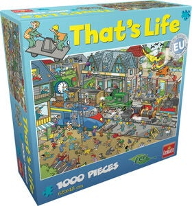 Goliath Games Puslespil That's life – Train Stat 1000 Brikker