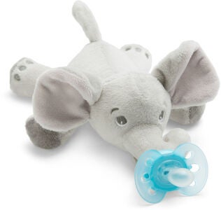 Philips Avent Sut m. Tøjdyr Ultra Soft Elefant