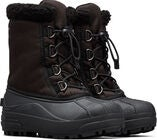 Sorel Youth Pac Cumberland Vinterstøvler, Black