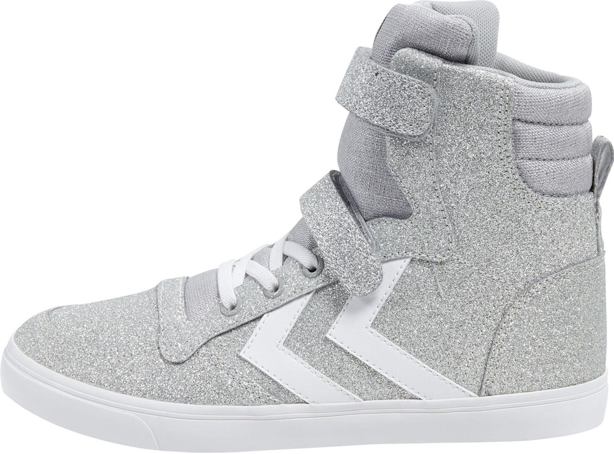szalona cena najlepszy wybór gorące produkty SneakersSilverJollyroom Jr Hummel Slimmer Stadil High Køb ...
