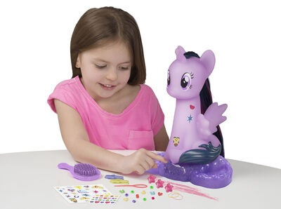 My Little Pony Stylinghoved Hest Twilight Sparkle med Ljus